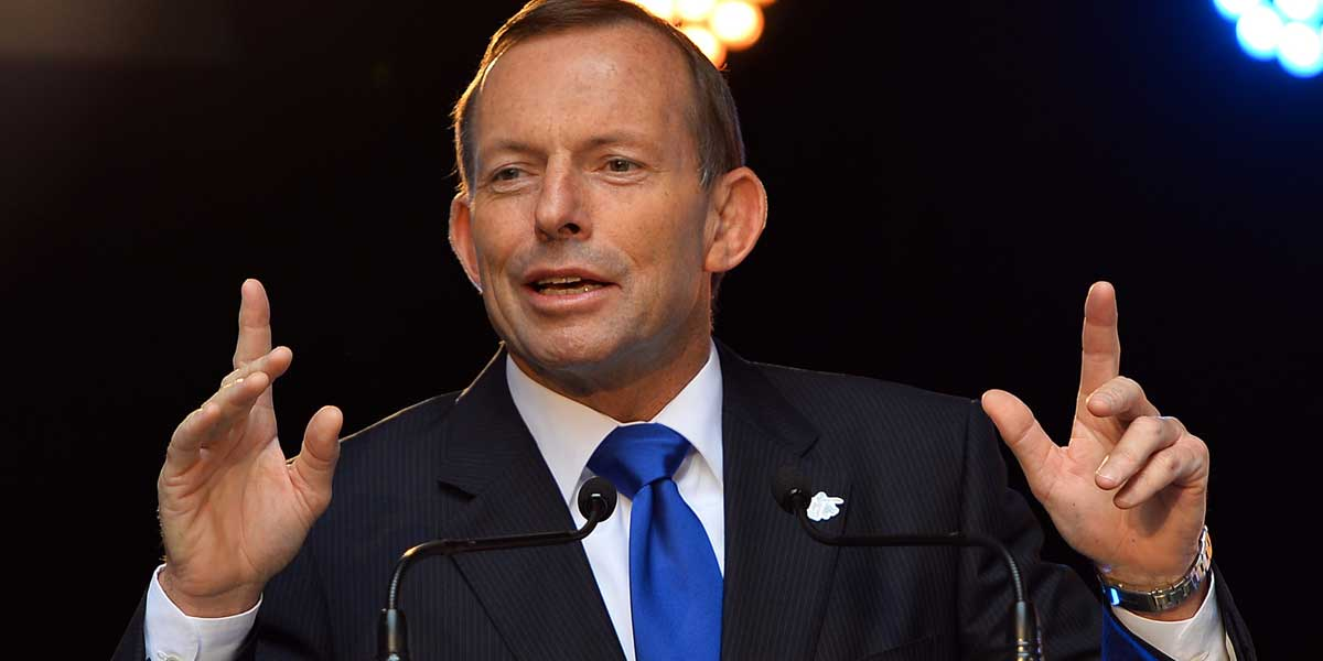 The Hon Tony Abbott