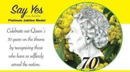 Australian Platinum Jubilee Medal